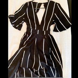 Shorts Romper Dress